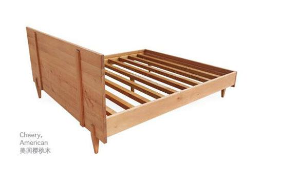 自制木床结构图